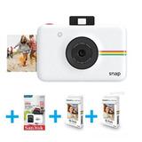 Camara Polaroid Snap Instantanea 10mp + 60 Fotos + Memo 32gb