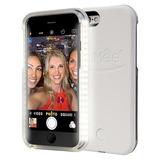 Capa Case Capinha Lumee Led Luz Selfie Iphone 6/6s - Branca
