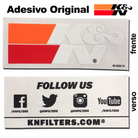 Adesivo Original K&n Kn K &n Filtro Esportivo Euro Jdm Bmw