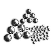 Bolillas Bolas Acero Carbono 11/16 17.46mm X50 Ms Rodamiento