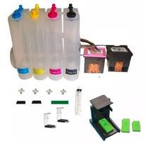 Bulk Ink Com 2 Cartuchos Hp 664 Black/ Color Impressora 1115