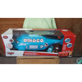 Cars Dinoco Helicoptero Carrier Die Cast 58 Cms Jumbo King