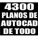 4300 Planos Y Librerías De Autocad Arquitectura Ingeniería