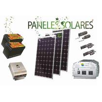 Paneles Solares 810w Kit Completo 24v Genera 3,500wh /dia