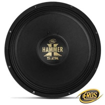 Woofer Eros E15 Hammer 5.2k 15 Polegadas 2600w Rms 4 Ohms Bo