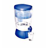 Filtro De Água Eco Filter Sap, Acrílico E Azul Frete Grátis