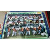 Poster Gigante São Paulo E Palmeiras 1993 Medindo 53,5 X 41