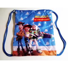 10 Morralitos Dulcero Personalizados Toy Story, Woody, Buzz