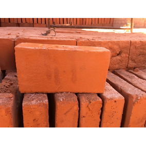 Cuña De Barro Rojo Recocida De 19x9.5x4cm
