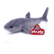 Peluche Animales Tiburon Real 40 Cm. Phi Phi Toys