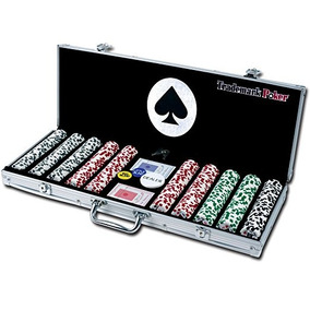 Trademark Poker 4 Aces 500 11.5g La Ficha De Póker Set Con L