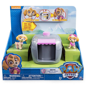 Paw Patrol Skye Pup To Hero Playset Jugueteria Bunny Toys