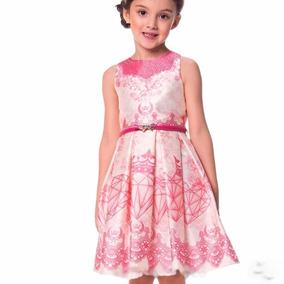 Vestido Infantil Petit Cherie Estampado 10.11.31142