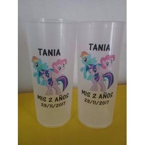 10 Vasos Plastico Personalizados , Suvenirs , Con Vinilos
