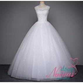 Vestido Noiva Debutante Barato Branco Pronta Entrega