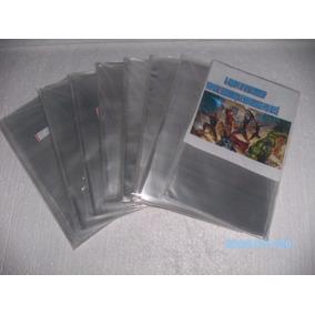 100 Sacos Plásticos Tam 22x32cmx0,10 P Revistas Club Penguin