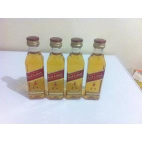 Promoção Kit Com 10 Miniaturas Whisky Red Label 50 Ml