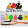 Pacote 6 Bonecos Angry Birds Com Estilingue - Disponível