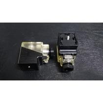 Clavija R901017022 Bosch Rexroth Din Conector Valvula C/led