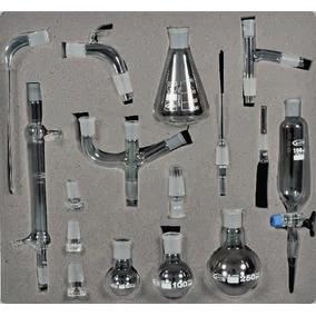 Set De Destilación Para Laboratorio Con 16 Pz Glassco Nuevo