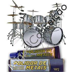 Metal Polish Para Instrumentos Musicais Bateria Baquetas