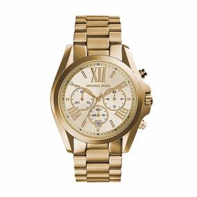 Reloj Michael Kors Mk5605 Bradshaw Gold-tone Para Mujer