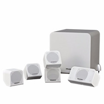 Kit Caixas Home Theater 5.1 Wharfedale Ms-100 Hcp Branco