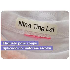 Etiquetas Para Roupa Personalizada Uniforme Infantil