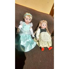 Bonecas Antigas De Porcelana