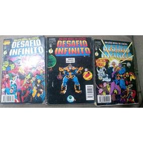 Desafio Infinito Completa!! 3 Revistas