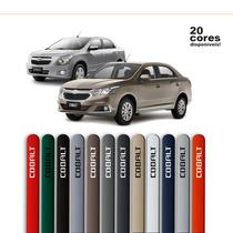 Friso Pintado Para Chevrolet Cobalt Preto Global