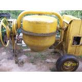 Trompo Mezclador De Concreto 8 Hp 1 Saco Gasolina