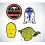 Parques Disney Star Wars Magia Banda Bandidos Juego De 4 En