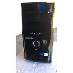 Computador Pc Cpu Core 2 Duo E7400, 4gb,ddr3,hd250gb, Dvd-rw