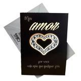 Cartão Regular Acessórios - Amor