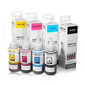 Kit Color Tinta Impressora Bulk-ink L365 L375 L355 L395 L575