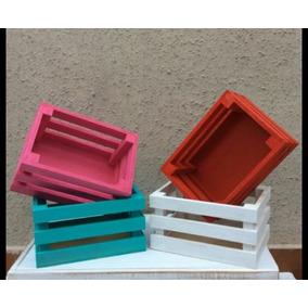 Pack 10 Mini Cajoncitos Verduleros Souvenirs/ Golosineros