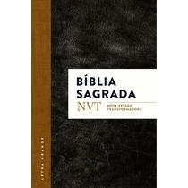 Bíblia Nvt - Letra Grande - Clásssica Ou Flores