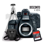 Eos 6d Mark Ii Corpo + Sd 32gb Ultra + Case + Tripé +  Nfe