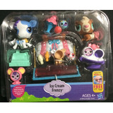 Set Littlest Pet Shop Ice Cream Frency Original Hasbro
