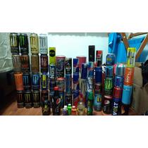Colección De Envases De Bebidas Energéticas