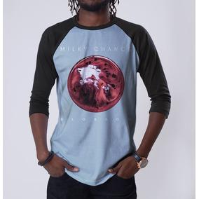 Camiseta Manga Longa Milky Chance Stolen Dance Lollapalooza