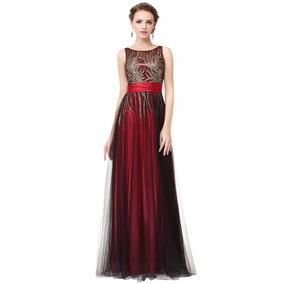 Vestido De Quince-fiesta- Egreso Bordado Talle S (mod.15)