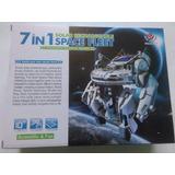 Robot Solar Flota Espacial 7 En 1