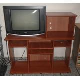 Mueble Modular Para Tv_mdf_ Usado_en Muy Buen Estado