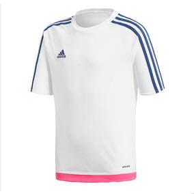 Camisa adidas Estro 15 Boys - Branco 115c4da70b105