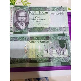 Billete Sudan Del Sur 1 Libra 2011 Pick 5 Unc