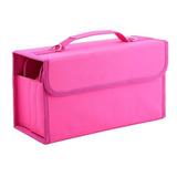 Marcadores De 80 Pluma Caso Lleva Bolsa... (pink)