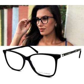 Armação Oculos Grau Feminino Acetato Dg3312 Prime Original