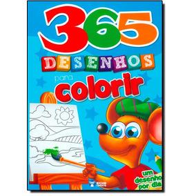 365 Desenhos Para Colorir: Um Desenho Por Dia